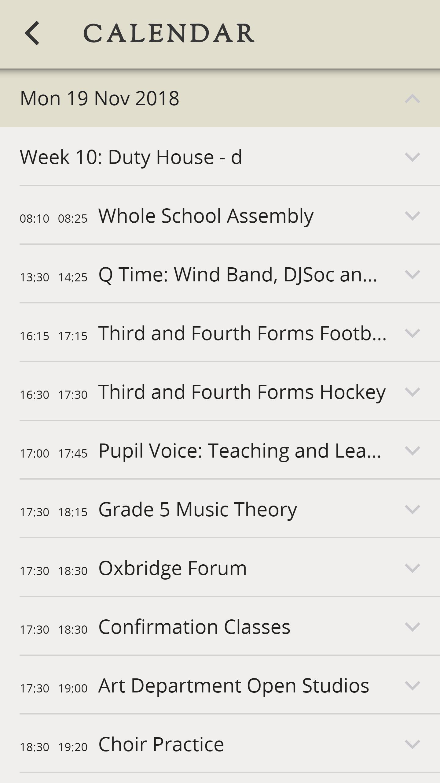 Sherborne School Apps